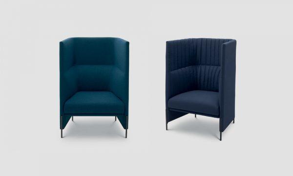 Algon Armchair High by Arflex