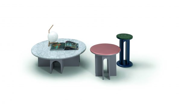 Arcolor Small Coffee Table by ARFLEX