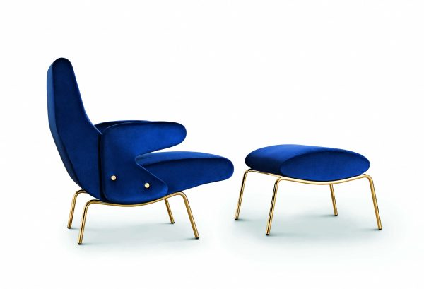 Delfino lounge Armchair by ARFLEX