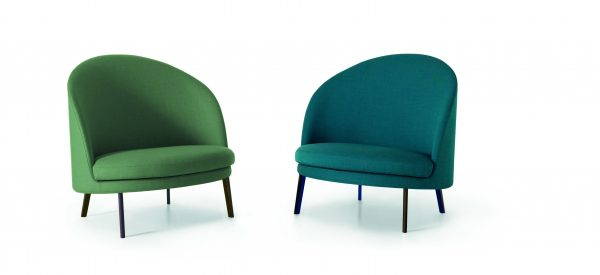 Jim Lounge chair-Arflex