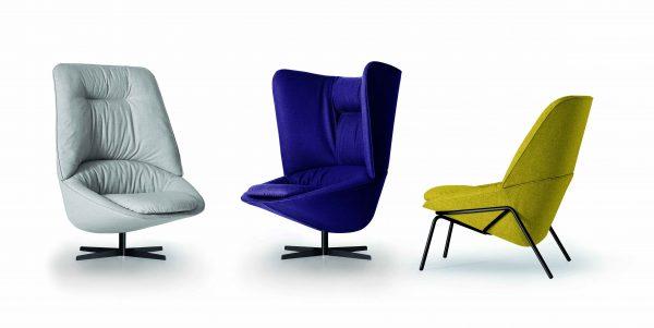 Ladle lounge chair-Arflex