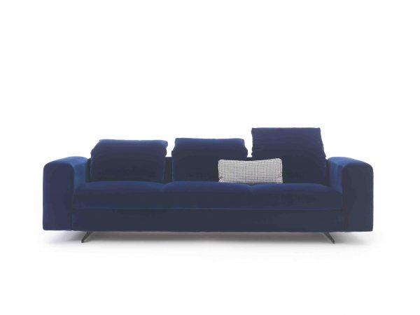 Arflex Sectional fabric sofa